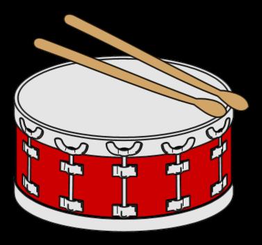 Snare drum clip art 3