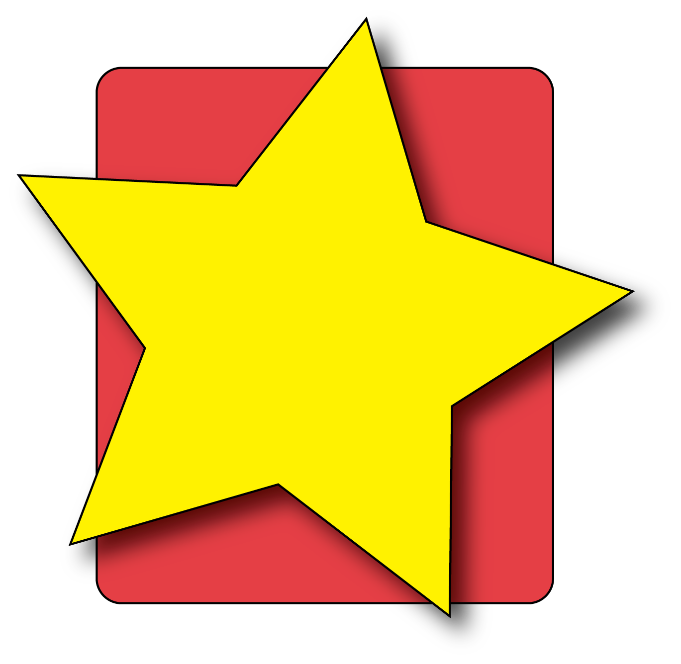 Star hollywood clipart free download clip art on