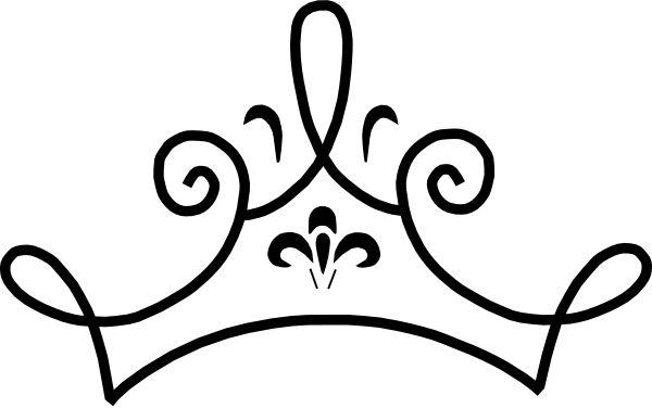 Tiara princess crown clip art vector free