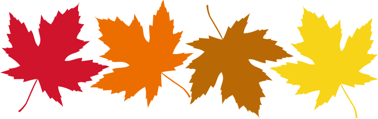 Top fall leaves clip art free clipart image