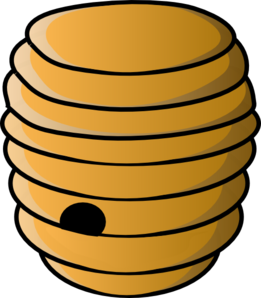 Vintage beehive clipart free images