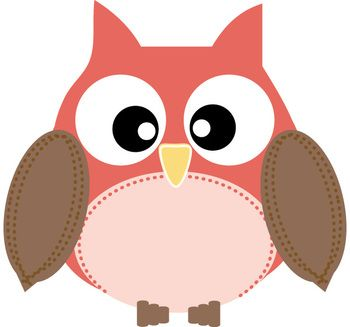 5 colors of owl clip art pack plus more for only 2 awesome image