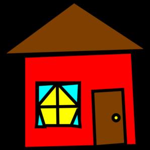 A fine house clip art free clipart images