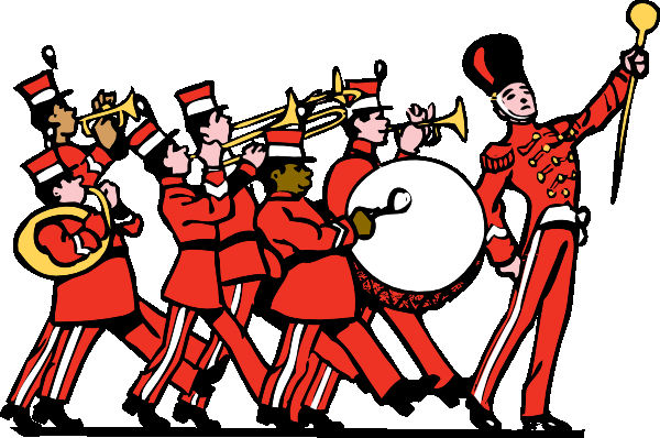 Band clip art free clipart images