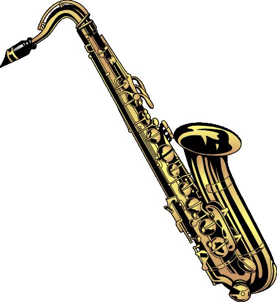 Band saxophone clip art