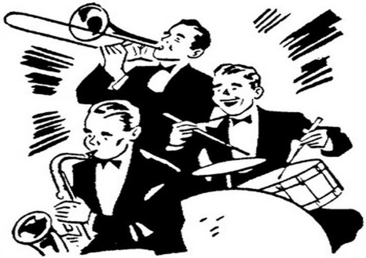 Big band era clip art clipart free download