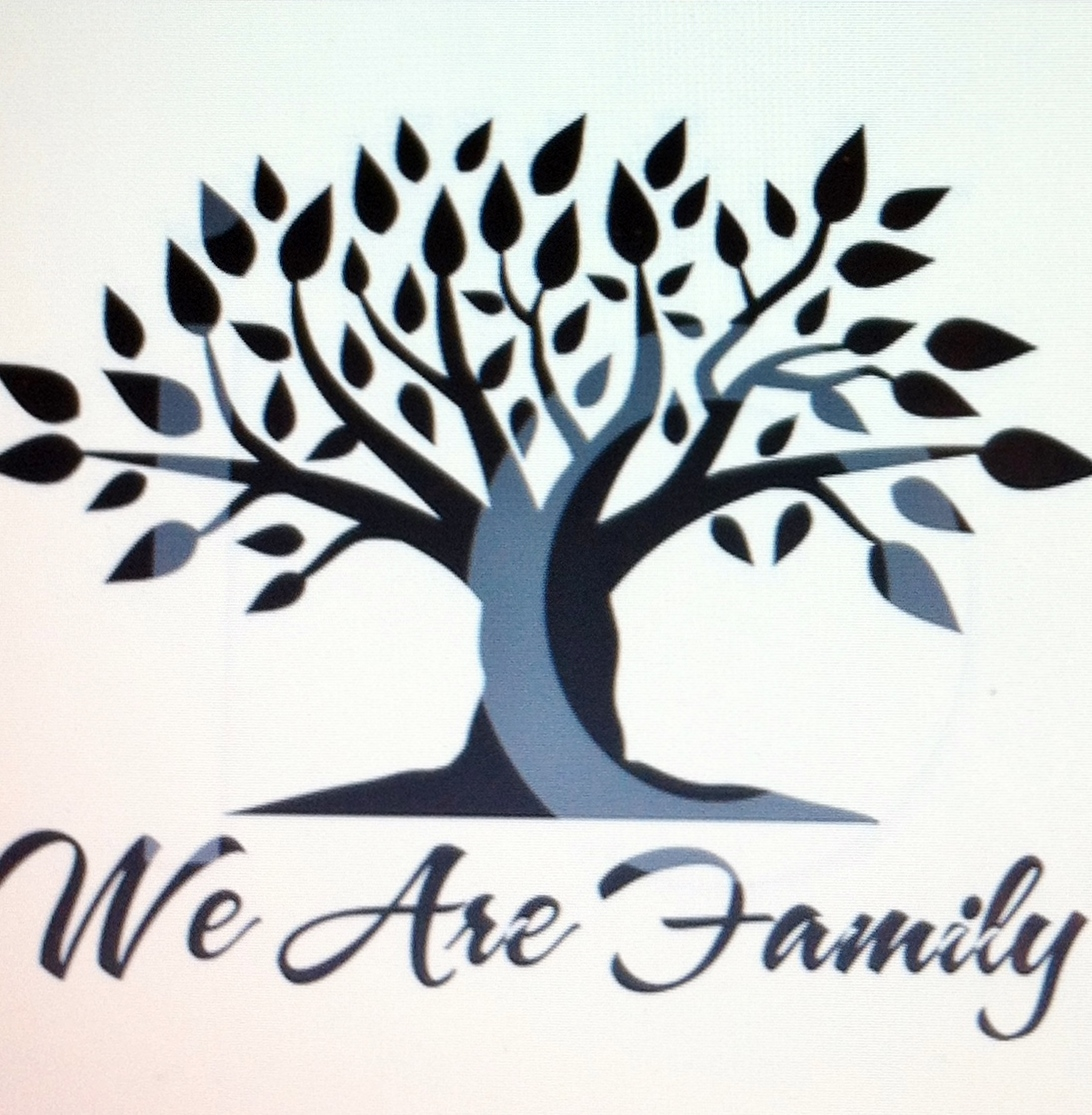 Black family reunion clip art library