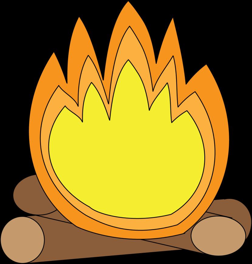 Bonfire clipart 2