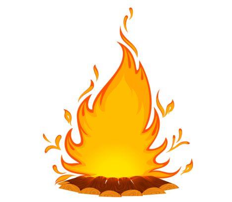 Bonfire clipart 5