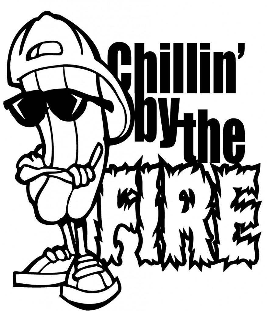 Bonfire clipart 7