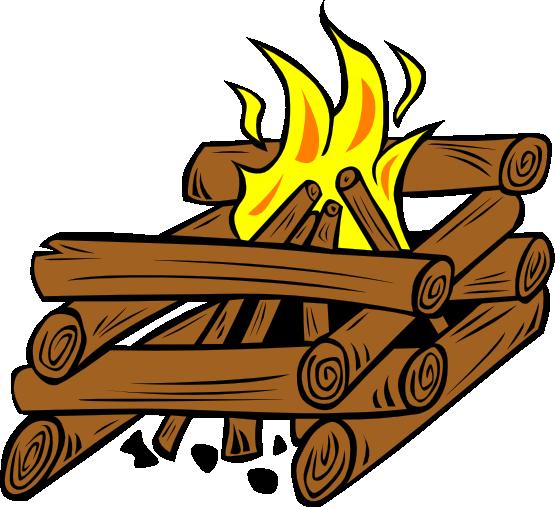 Bonfire clipart 8