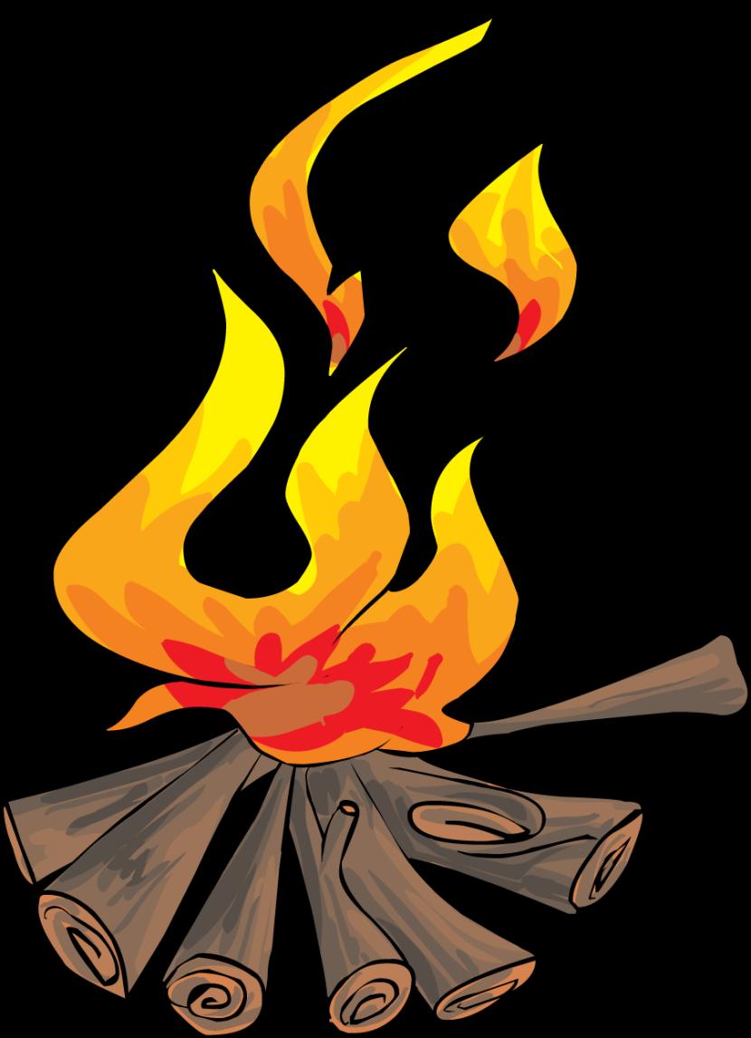 Bonfire clipart clip art library 2