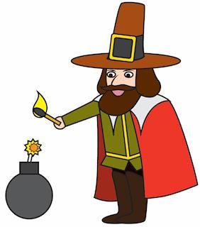 Bonfire night clipart