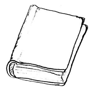 Book  black and white black and white book clipart clipartxtras