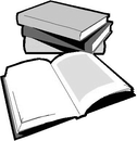 Book Black And White Stack Of Books Clipart Free 2