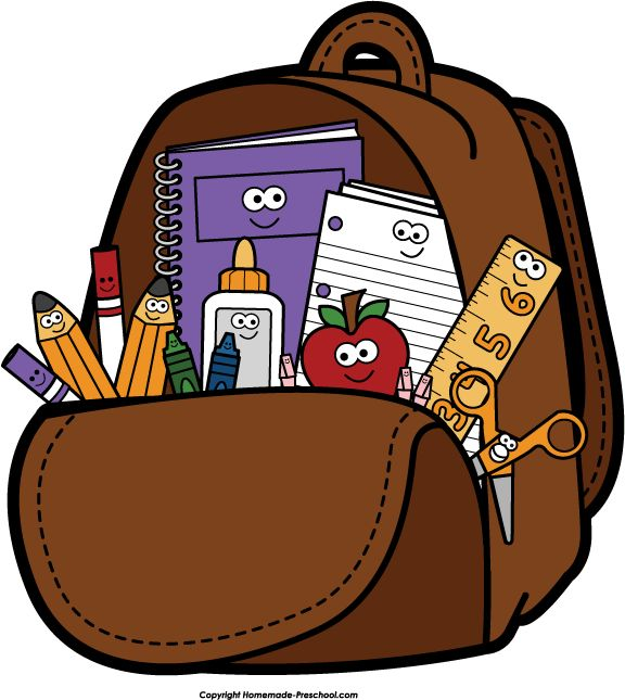 Bookbag Clipart 2