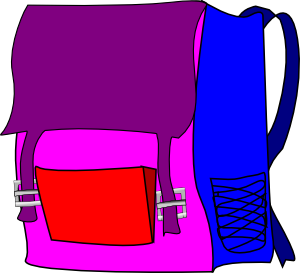 Bookbag backpack clip art at vector clip art 3