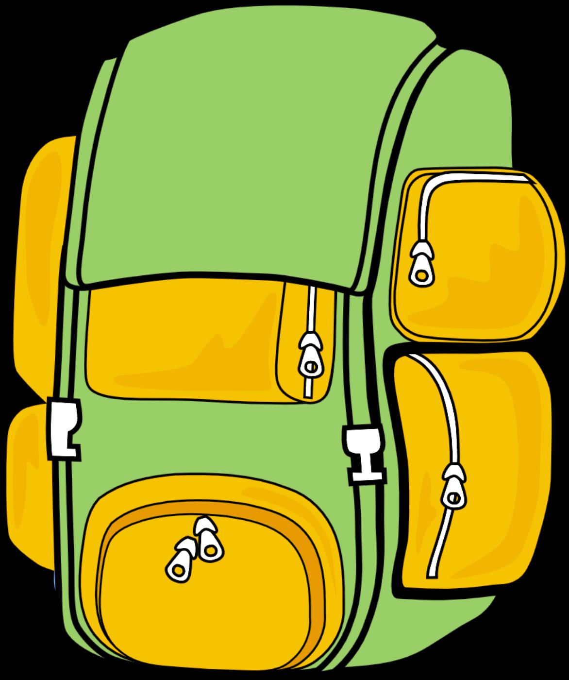 Bookbag backpack clipart 6 image