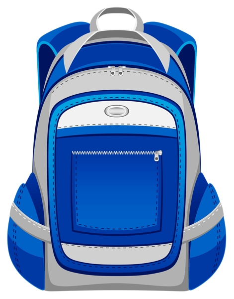 Bookbag backpack clipart 6