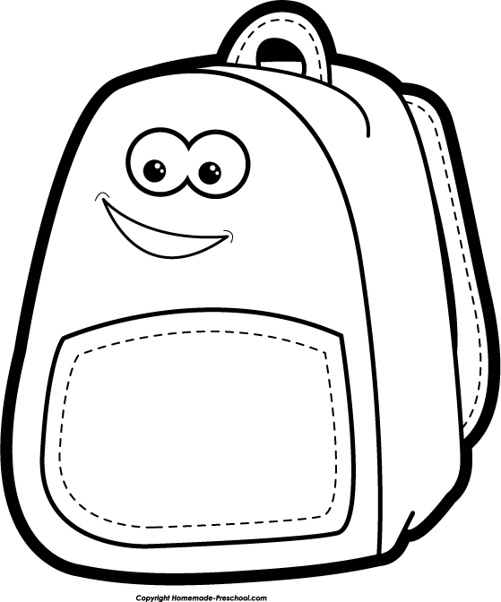 Bookbag book bag clipart clip art library