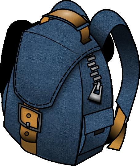 Bookbag clip art backpack clipart 5