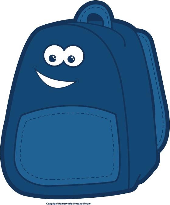 Bookbag clip art backpack clipart clipartbarn