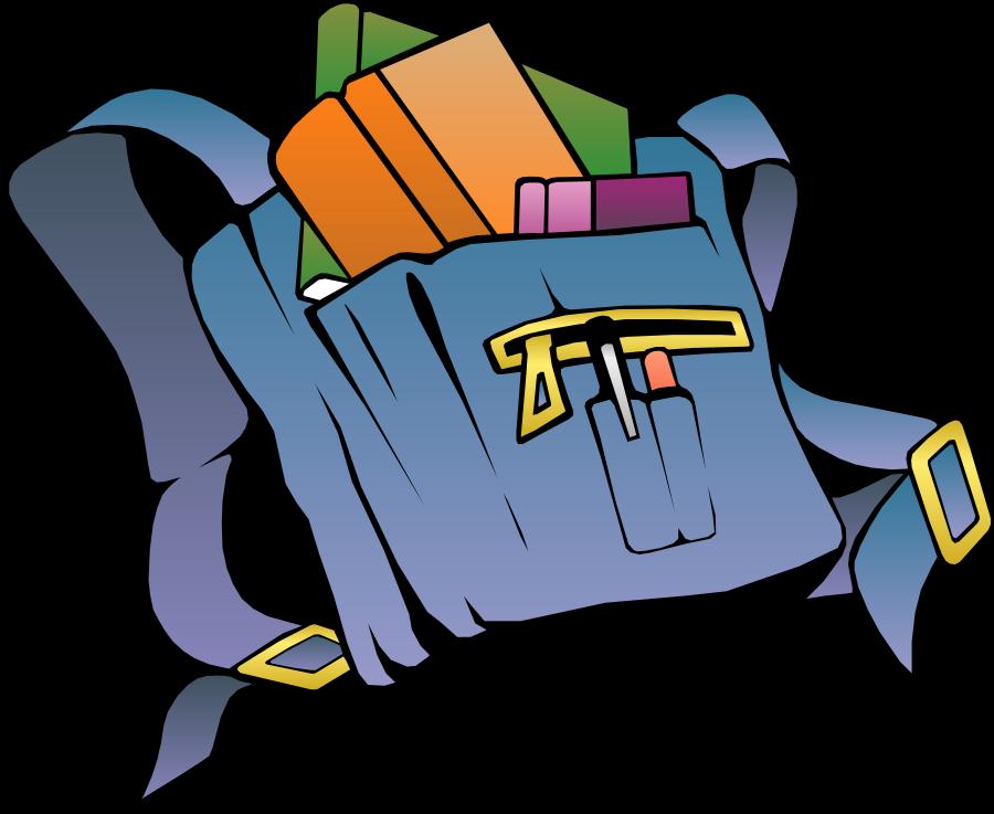 Bookbag clipart clip art library