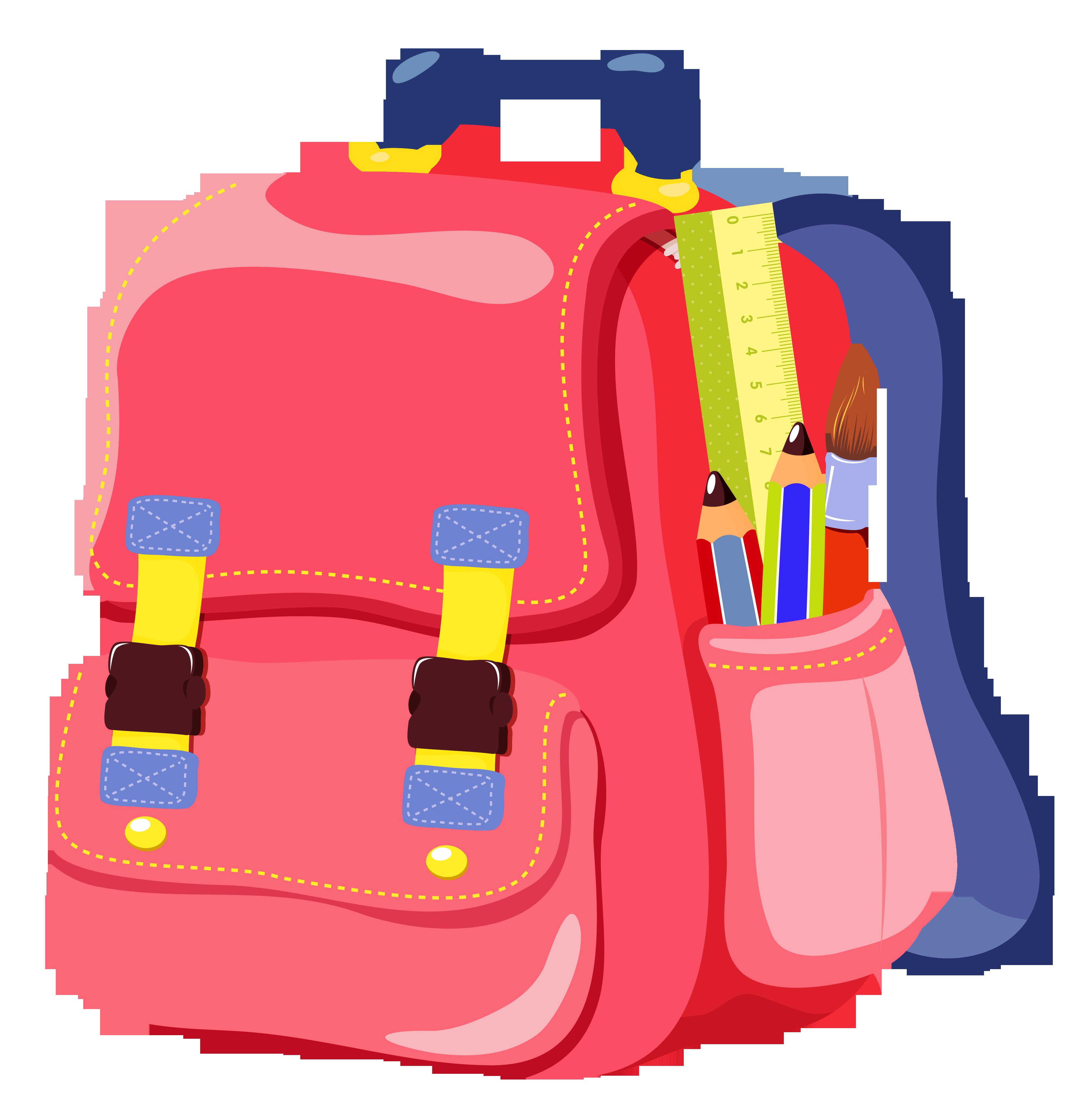 Bookbag clipart tiny 2