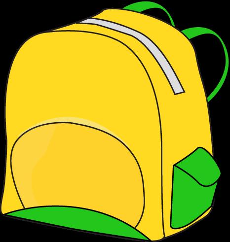 Bookbag clipart tiny 3