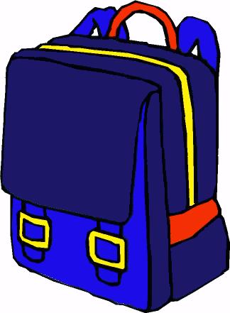 Bookbag clipart tiny 5