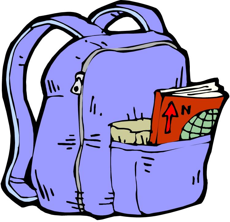 Bookbag clipart tiny