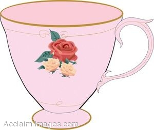 China tea cup clipart