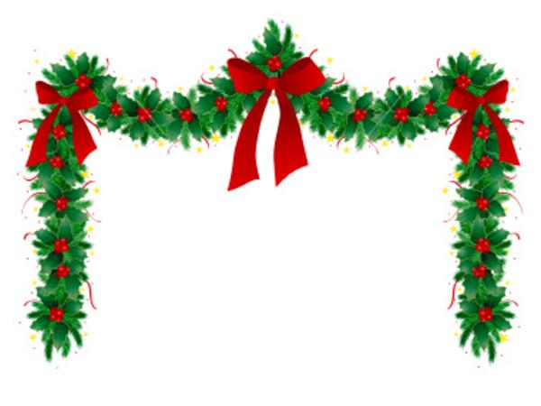 Christmas border christmasrner clip art free clipart images