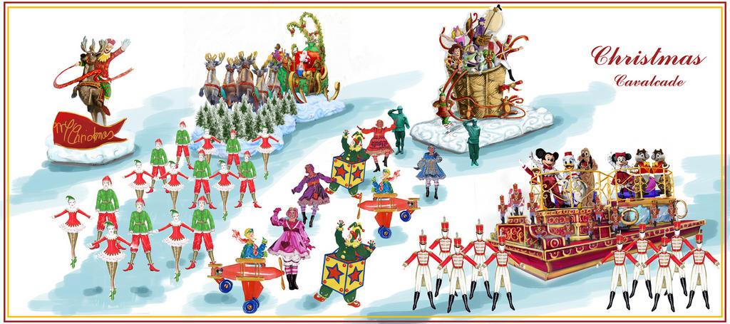 Christmas parade clip art many interesting cliparts