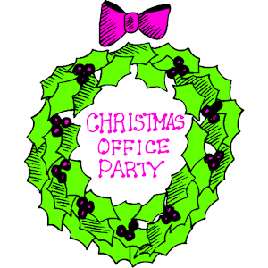 Christmas party christmas office party clipart cliparts of
