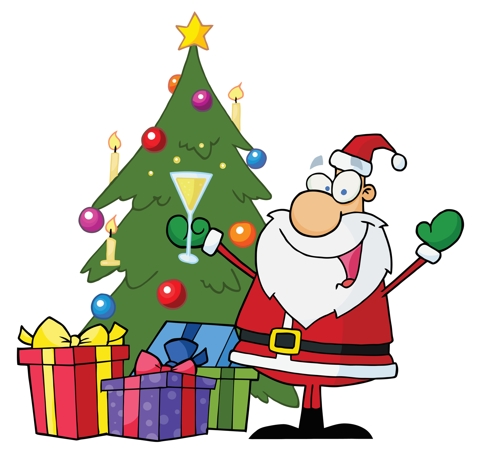 Christmas party clipart free download clip art
