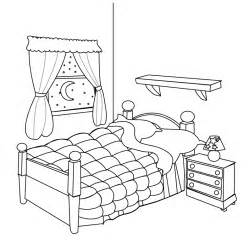Clipart bedroom outline