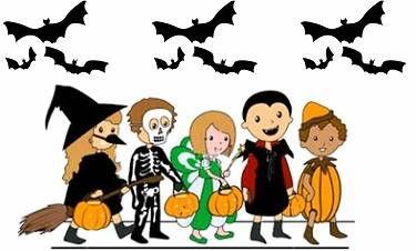 Costume clipart halloween parade pencil and in color costume