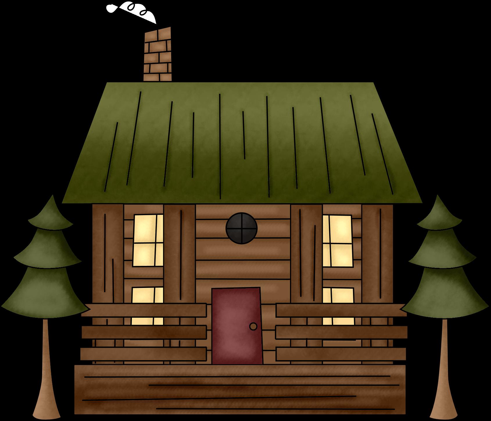 Cottage log clipart explore pictures