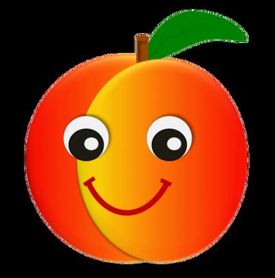Cute peach clipart clip art library