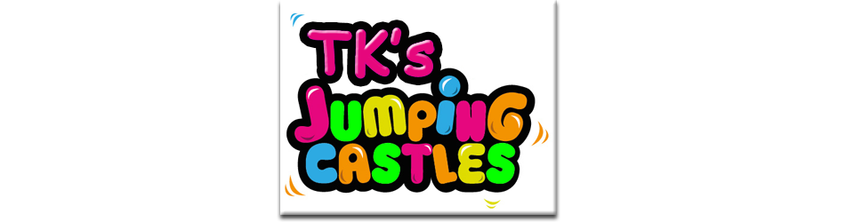 Double water slide tk'jumping castles clip art