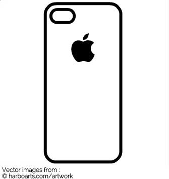 Download iphone vector graphic clipart