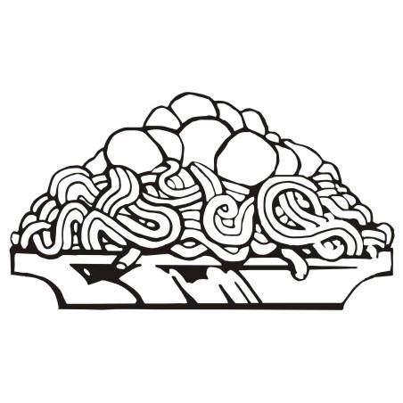 Download pasta clip art free clipart of spaghetti 6 2