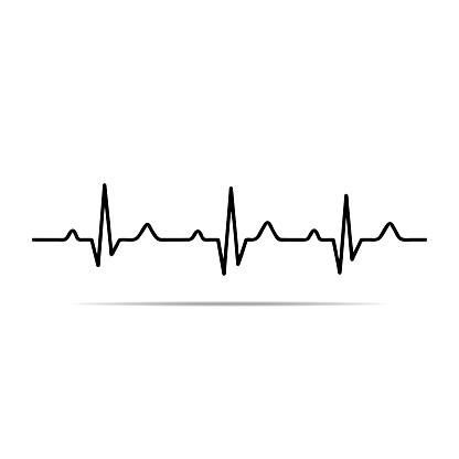 Ekg heartbeat line clipart free clipartbarn