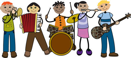 Elementary band clipart