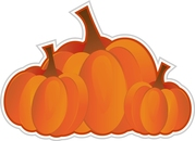 Environmental nature center fall festival and pumpkin patch clipart