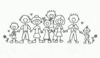 Family reunion clip art many interesting cliparts