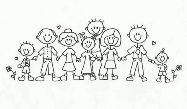 Family reunion clip art many interesting cliparts