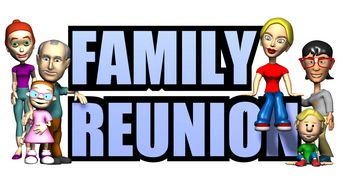 Family reunion clipart free clipart images