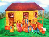 Family reunion idea reunion african american family art touch with her clipart